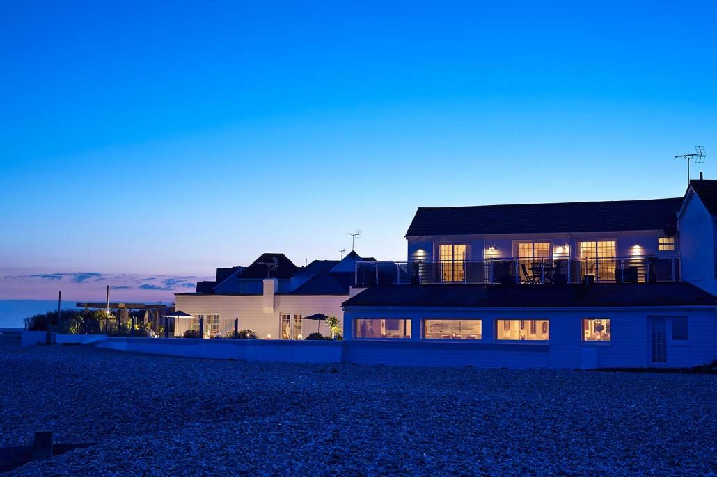 Angmering On Sea Beach House on West Sussex Beach