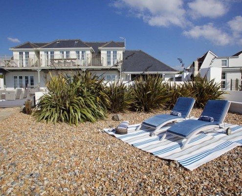 top beach houses in England