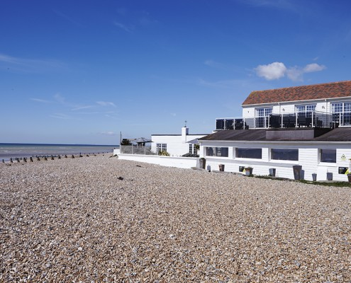 Angmering on sea beach house