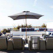 luxury beach houses by the sea