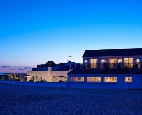 Private beach houses